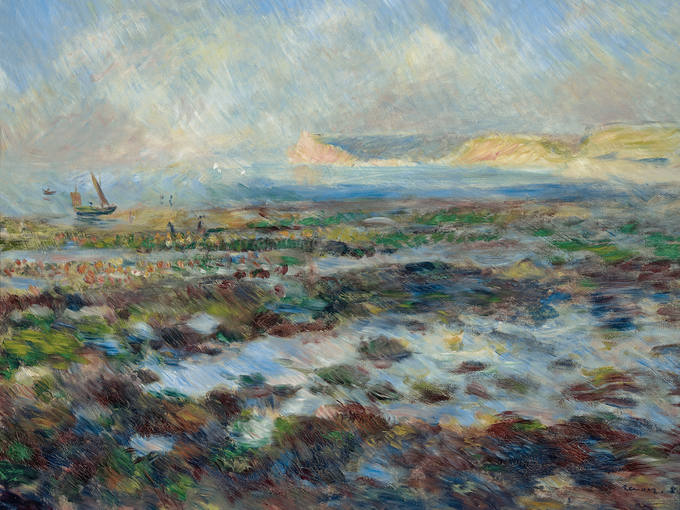"Pierre Auguste Renoire - ""Marea Baja"""