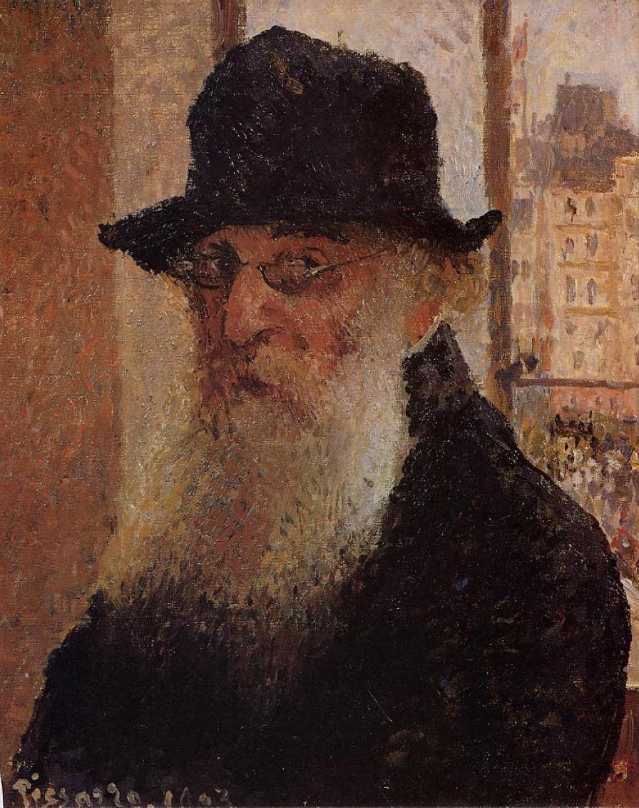 Camille Pissarro - Autorretrato (1903)