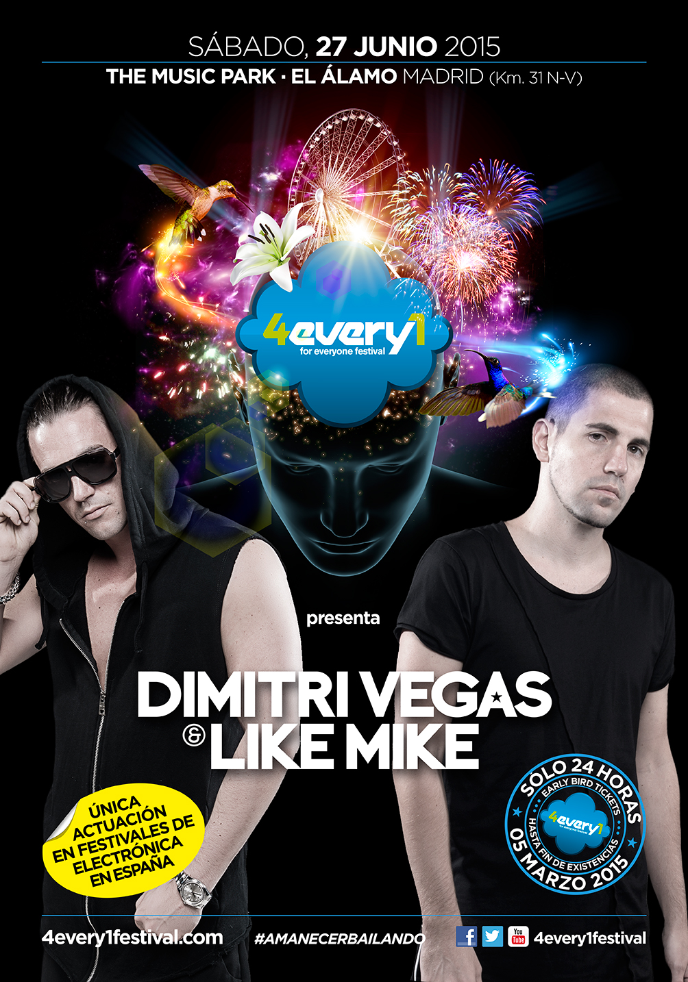 4every1-2015-CartelMikeVegasSinPrecio