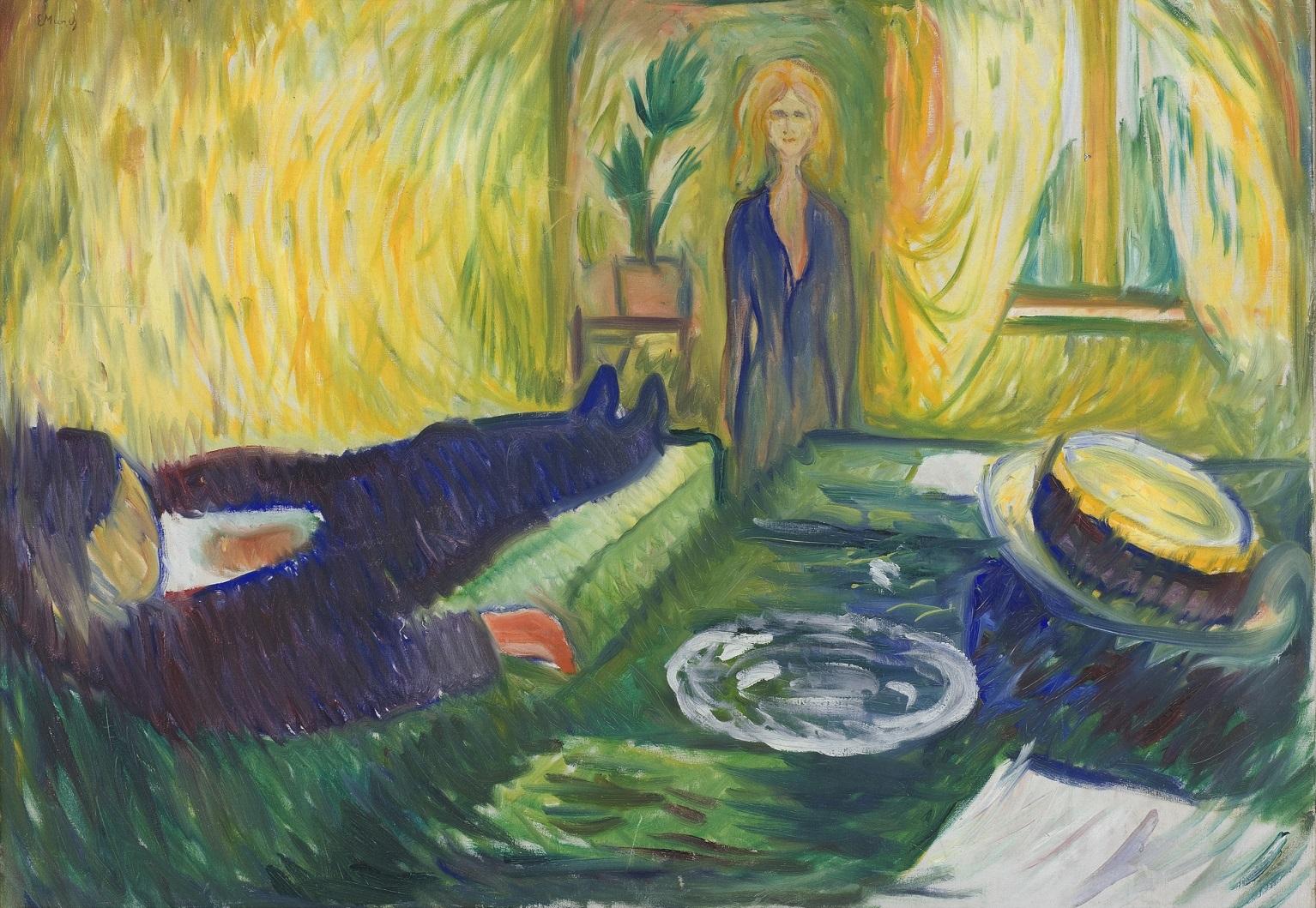 Edvard Munch - Asesinato (1906)