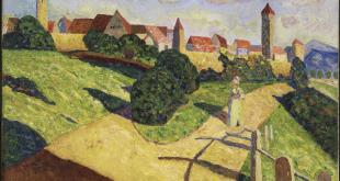 Vasili Kandinsky - Alte Stadt II (Ciudad antigua II) (1902)
