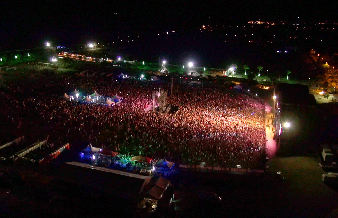La pasada edición Alrumbo 2015 contó con más de 180000 asistentes