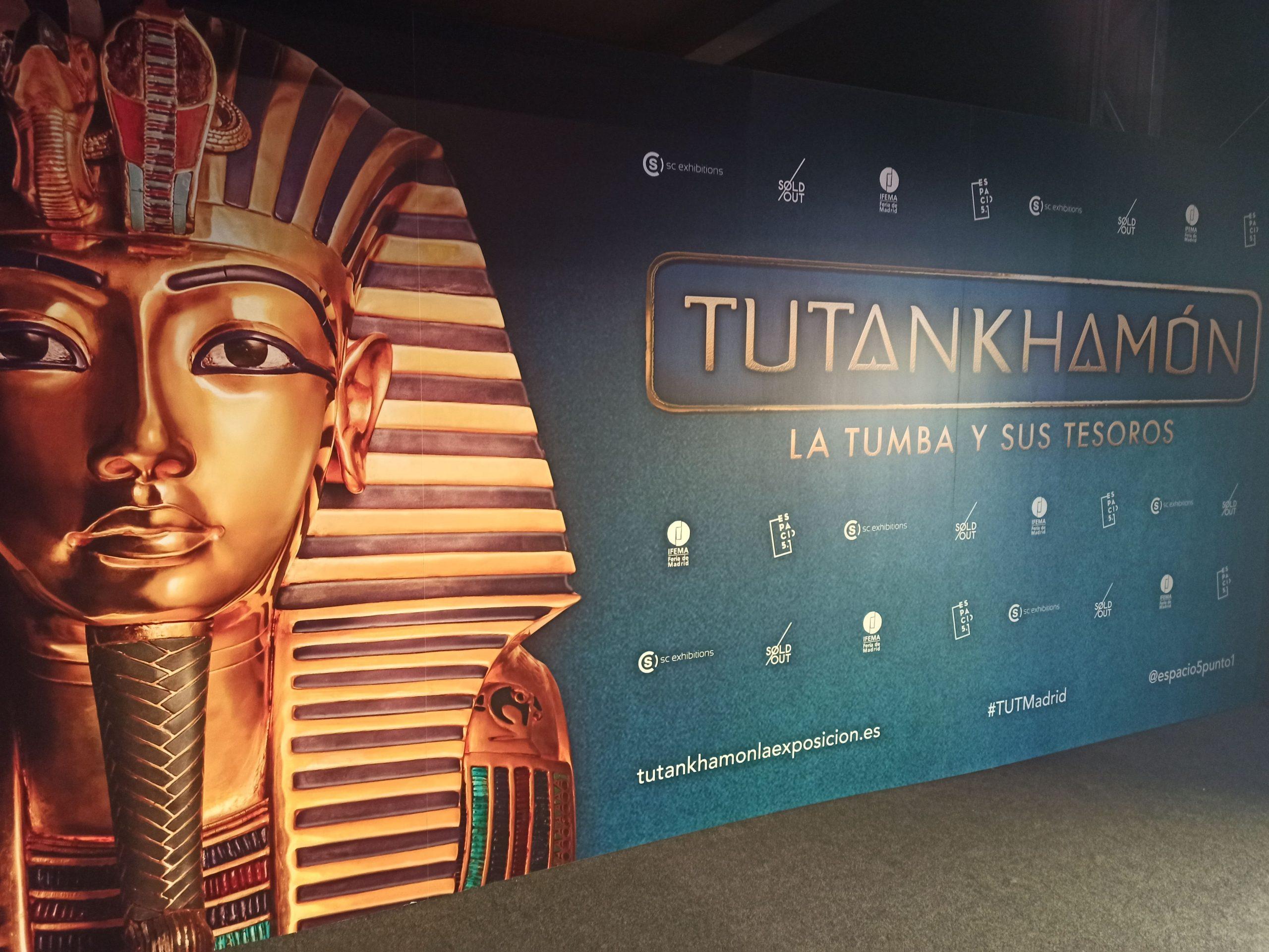 Tutankhamon tumba y tesoros en Ifema Madrid