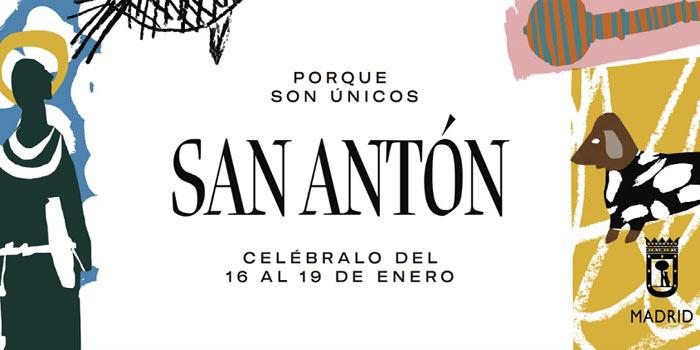 Fiestas San Antón 2020 Madrid