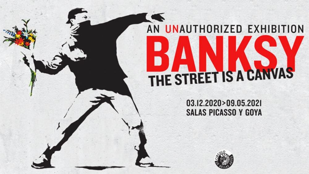Exposición de Bansky en Madrid